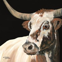 Longhorn Love Fine-Art Print