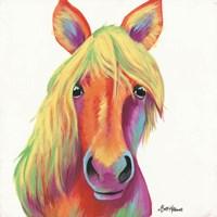 Cheery Horse Fine-Art Print