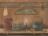 Treasures on the Shelf I Fine-Art Print