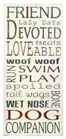 I Love My Dogs Fine-Art Print