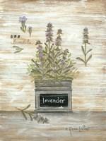Lavender Botanical Fine-Art Print