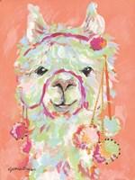Llama Love Fine-Art Print
