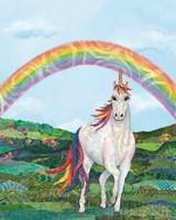 Rainbow Pastures Fine-Art Print