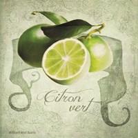 Vintage Limes Citron Fine-Art Print