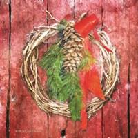 Rustic Wreath Fine-Art Print