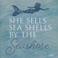 She Sells Seashells Fine-Art Print