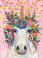 Botanical Unicorn Fine-Art Print