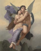 The Abduction of Psyche, 20th - 21st Century Fine-Art Print
