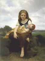 The Elder Sister (La Soeur Ainee) Fine-Art Print