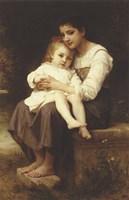 The Eldest Sister, 1886 Fine-Art Print