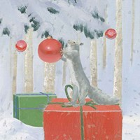 Christmas Critters Bright VII Fine-Art Print