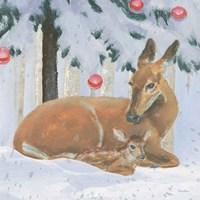 Christmas Critters Bright VIII Fine-Art Print