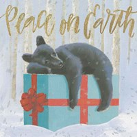 Christmas Critters Bright II Fine-Art Print