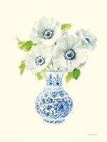 Floral Chinoiserie I Fine-Art Print