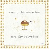 Calorie Cuties VI Dot Border Fine-Art Print