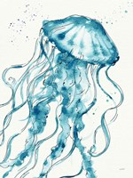 Deep Sea X v2 Teal Fine-Art Print