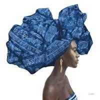 Pure Style II Blue Fine-Art Print