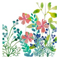 Flowers Square Fine-Art Print