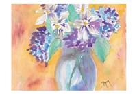 Gardenia and Hydrangea Fine-Art Print
