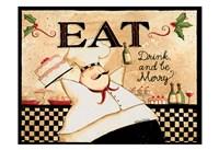Eat Drink Be Merry Fine-Art Print