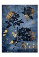 Gold Hint Floral Fine-Art Print