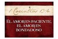 Corintios El Amor Fine-Art Print