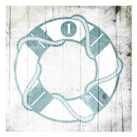 Number One Lifesaver Toned Down Fine-Art Print