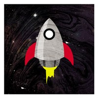 Spaceship Adventure Fine-Art Print
