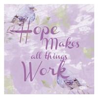 Lavender Faith 1 Fine-Art Print