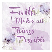 Lavender Faith 2 Fine-Art Print
