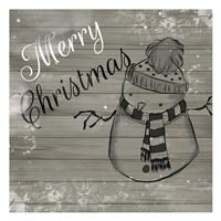 Christmas Black And White Fine-Art Print