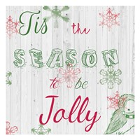 Christmas Typo 1 Fine-Art Print