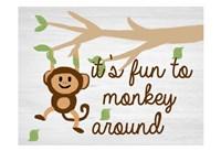 Monkey Around 2 Fine-Art Print