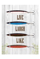 Live Laugh Lake Fine-Art Print