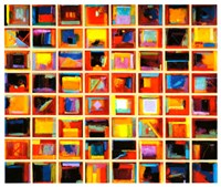64 Abstract Paintings Fine-Art Print