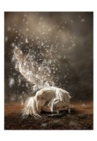 White Butterfly Fairy Fine-Art Print