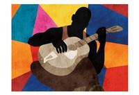 Solo Musician 1 Fine-Art Print