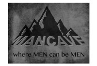 Manly Mancave Fine-Art Print