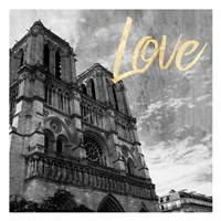Paris Love 3 Fine-Art Print