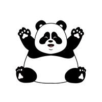 Chubby Panda Fine-Art Print