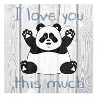 Loving Panda 1 Fine-Art Print