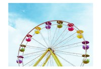 Summer Ferris Wheel 1 Fine-Art Print
