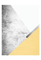 Yellow and Grey Mountains 1 Fine-Art Print