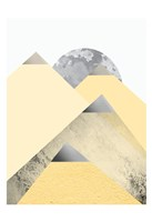 Yellow and Grey Mountains 2 Fine-Art Print