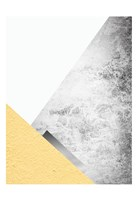 Yellow and Grey Mountains 3 Fine-Art Print
