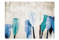 Paddles Against The Wall Fine-Art Print