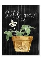 Lets Grow Fine-Art Print