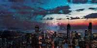 Chicago Skyline Hues Fine-Art Print