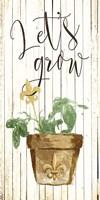 Lets Grow Cream Fine-Art Print