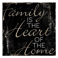 Family Heart Home Fine-Art Print